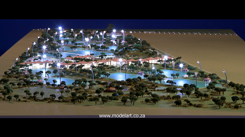 Architectural-Scale-Model-Sports Facilities-Royal Bafokeng Campus 1-1