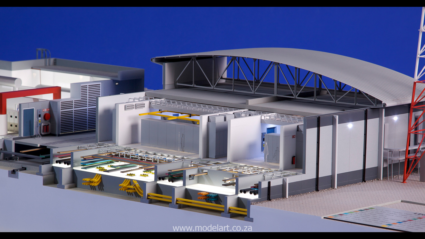 Architectural-Scale-Model-Engineering-MTN Rustenburg-6