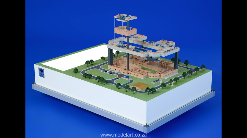 Architectural-Scale-Model-Engineering-Denel Munitions-1