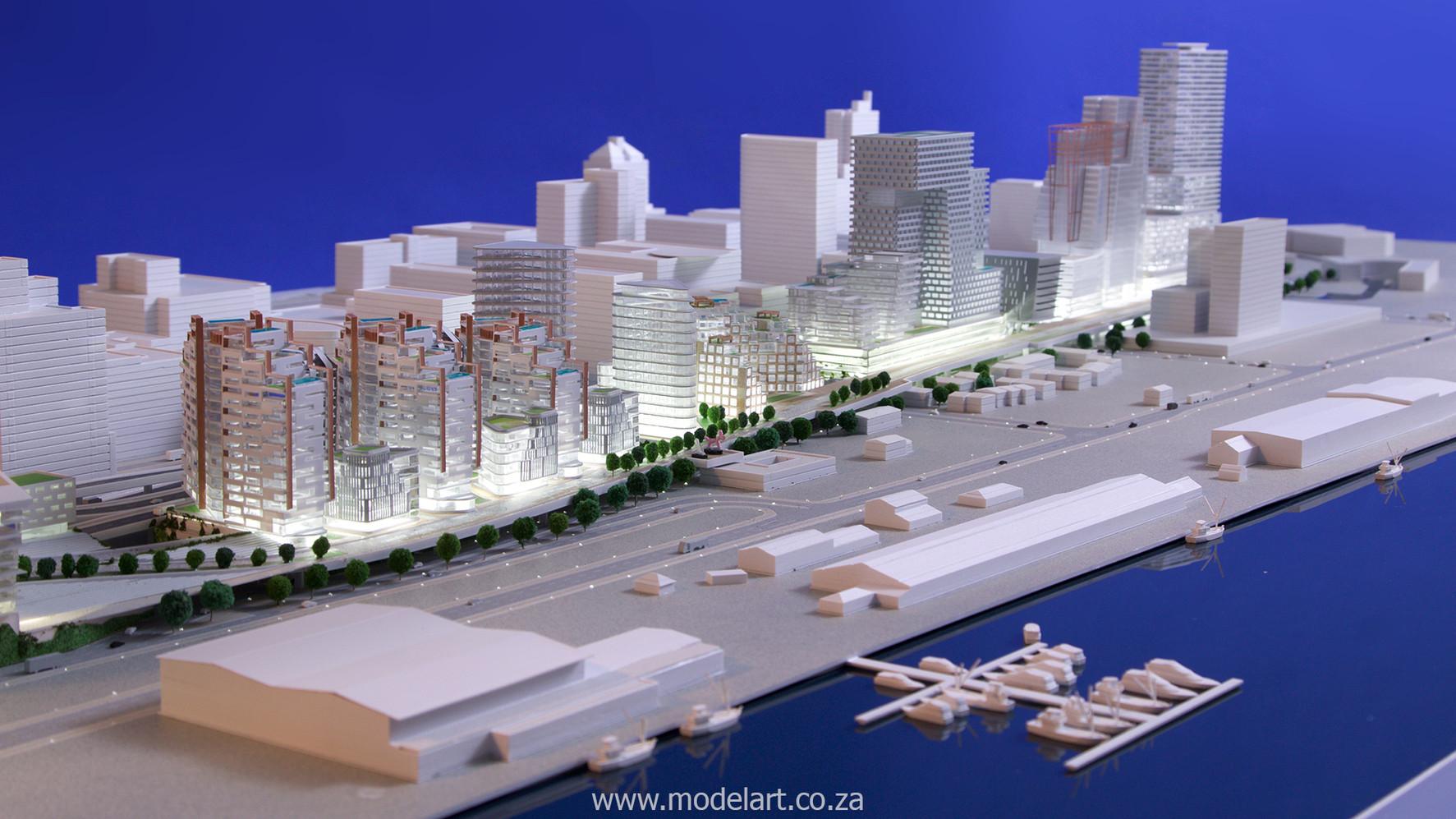 Architect Model-Harbour-Cape Town6