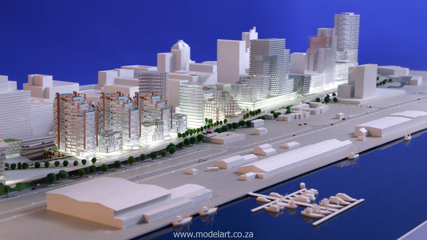 Architect Model-Harbour-Cape Town6