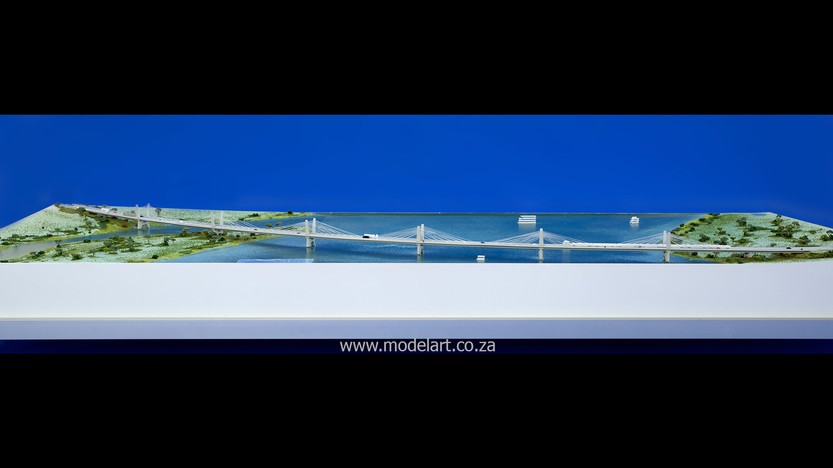 Architectural-Scale-Model-Engineering-Kazangula Bridge-3