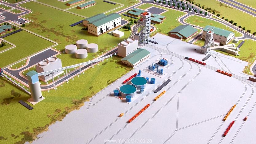 Architectural-Scale-Model-Engineering-Evander Shaft-5