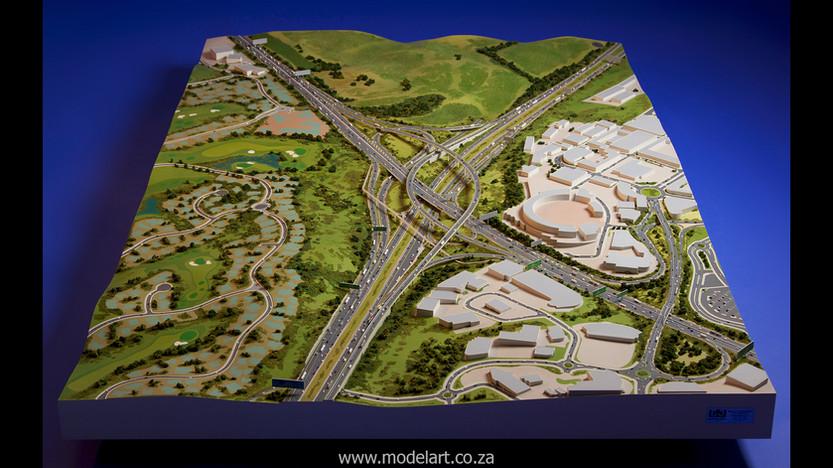 Architectural-Scale-Model-Engineering-Mt Edgecomb Interchange-3