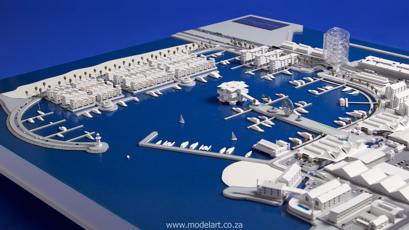Architect Model-Harbour-Walvisbay4