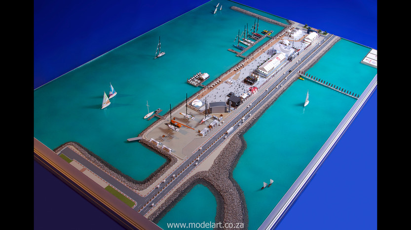 Architectural-Scale-Model-Sports Facilities-Volvo Ocean Race-3