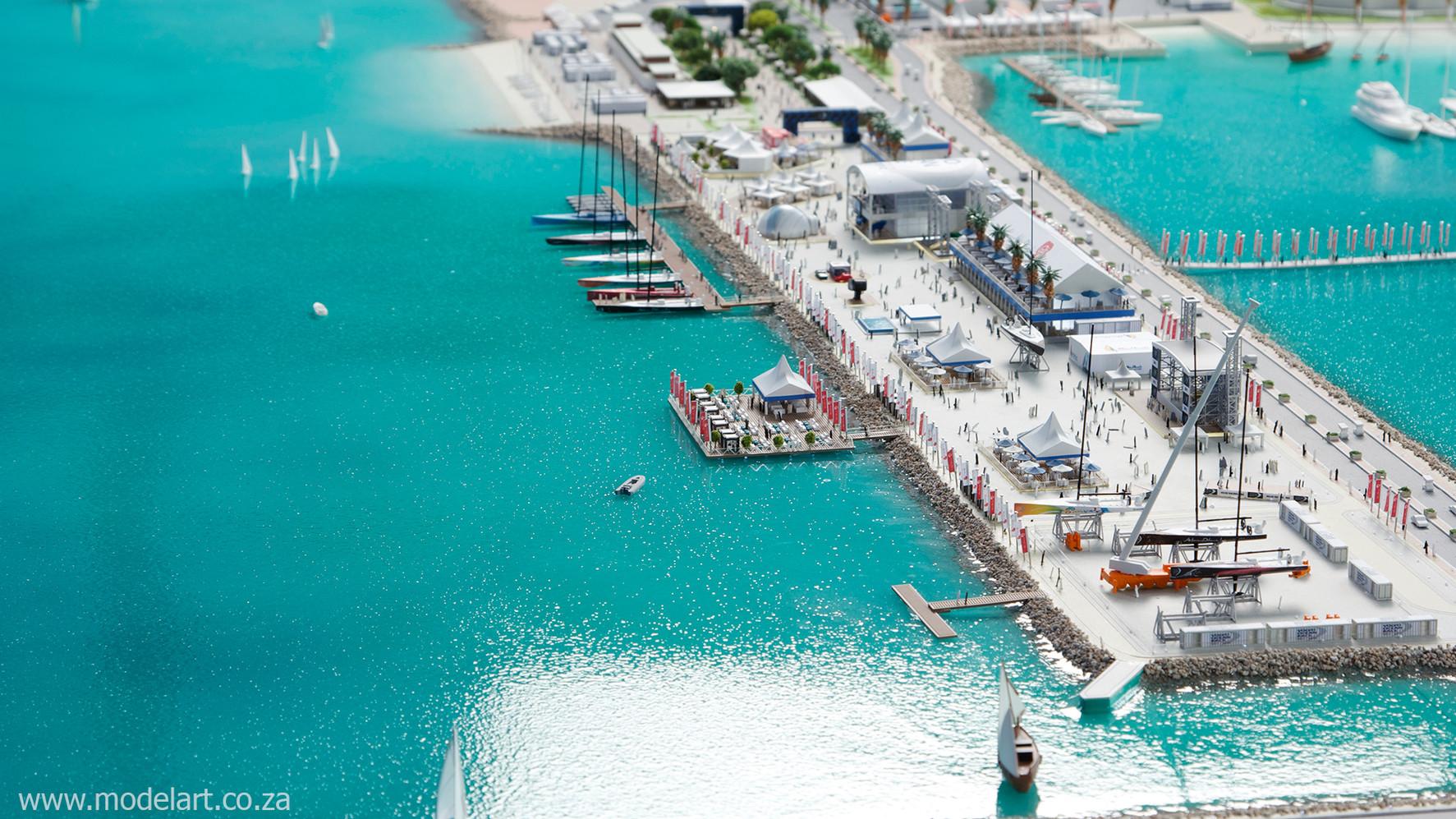 Architect Model-Sports-Harbour-Volvo Ocean Race2
