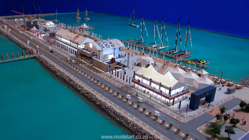 Architectural-Scale-Model-Sports Facilities-Volvo Ocean Race-9