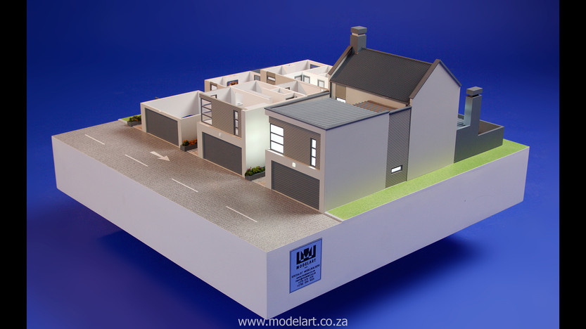Architect Model-Villa-Interior-Olivia Estate-Windhoek2