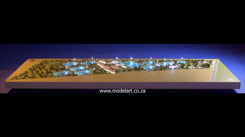 Architectural-Scale-Model-Sports Facilities-Royal Bafokeng Campus 1-3