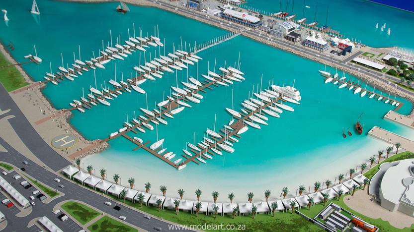 Architect Model-Sports-Harbour-Volvo Ocean Race9
