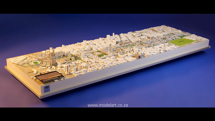 Architect Model-City-CBD-Johannesburg1