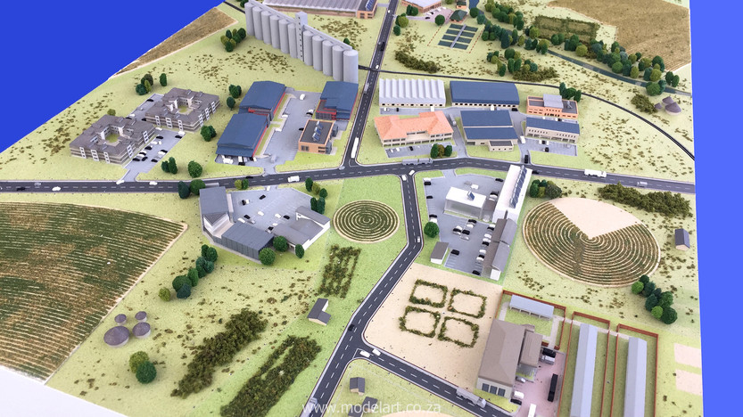Architectural-Scale-Model-Industrial-Agri Park-6