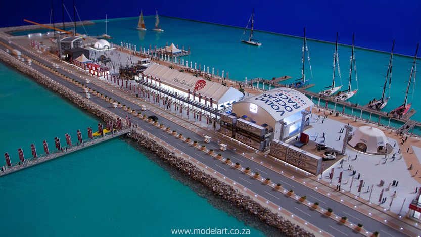 Architectural-Scale-Model-Sports Facilities-Volvo Ocean Race-10