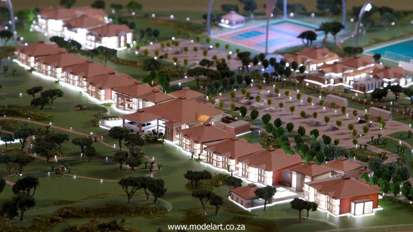 Architectural-Scale-Model-Sports Facilities-Royal Bafokeng Campus 1-4