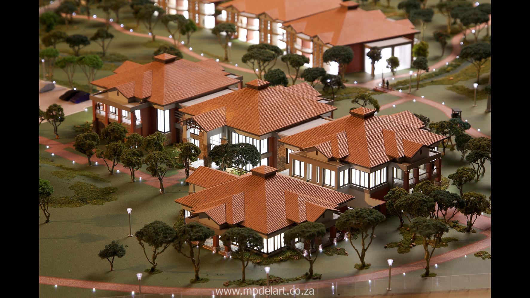 Architectural-Scale-Model-Sports Facilities-Royal Bafokeng Campus 2-4