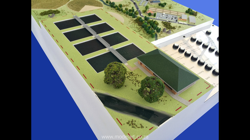 Architectural-Scale-Model-Industrial-Agri Park-4