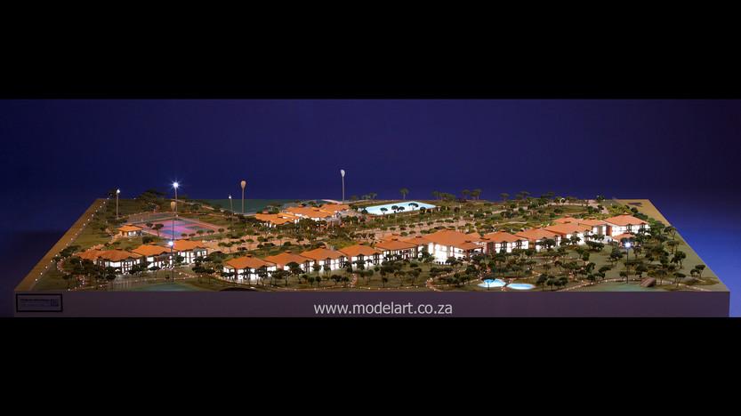 Architectural-Scale-Model-Sports Facilities-Royal Bafokeng Campus 2-1
