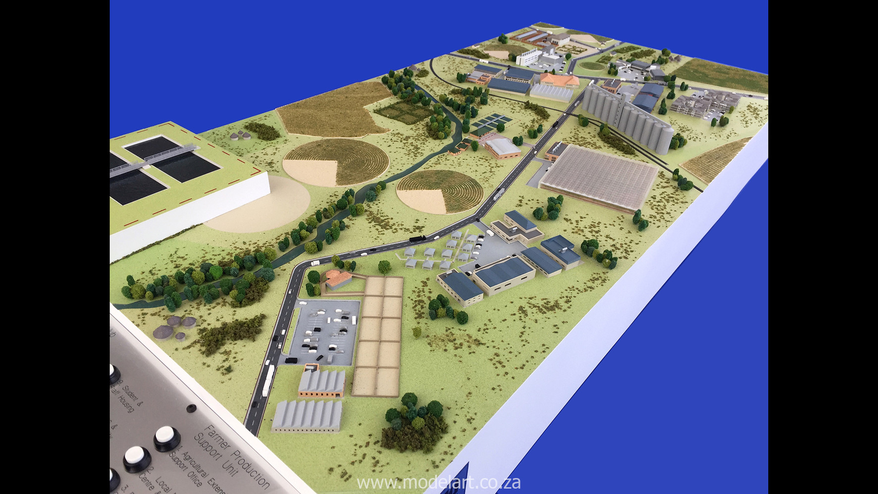 Architectural-Scale-Model-Industrial-Agri Park-2