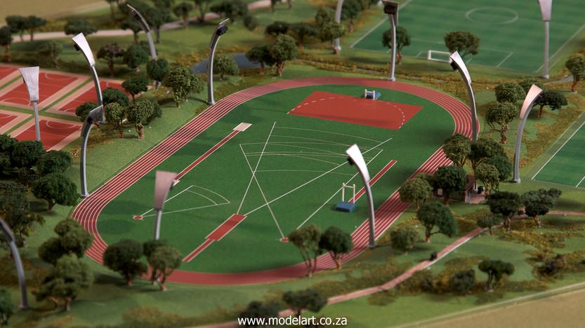 Architectural-Scale-Model-Sports Facilities-Royal Bafokeng Campus 1-5