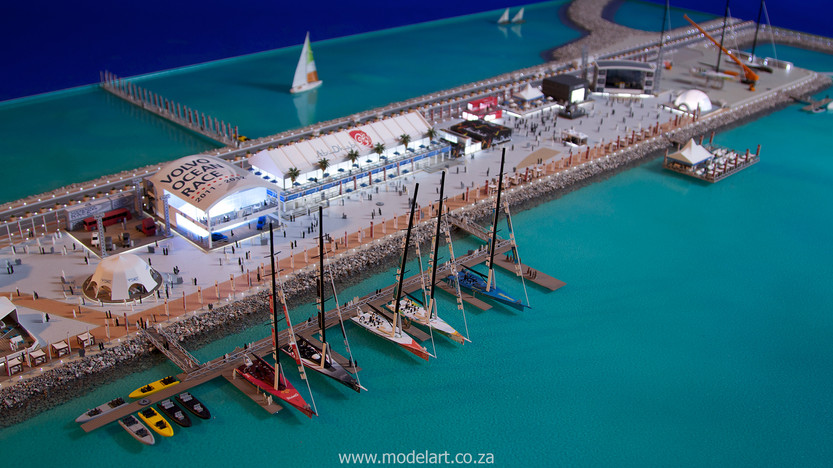 Architectural-Scale-Model-Sports Facilities-Volvo Ocean Race-7