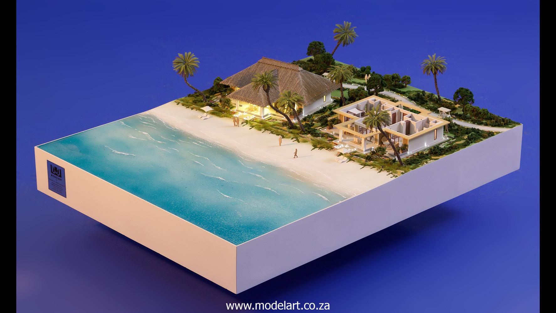 Architect Model-Villa-Resort-ADA Ghana2