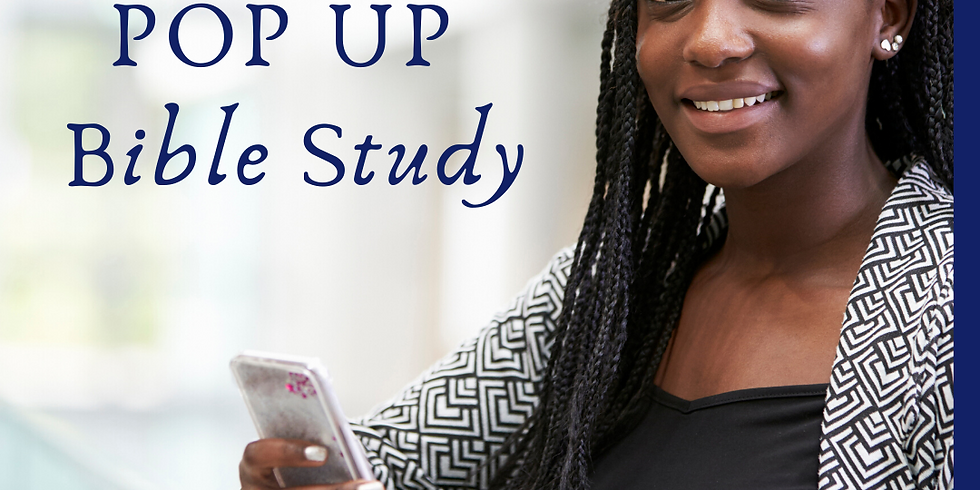 May Pop Up Bible Study - Young Adult