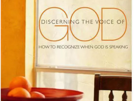 Discerning The Voice of God: