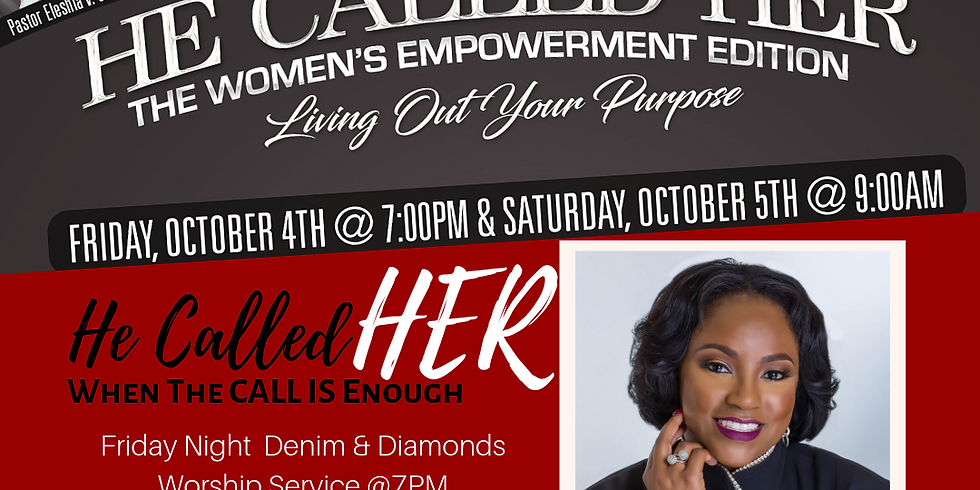 HE CALLED HER Conference - Women's Worship Night Service