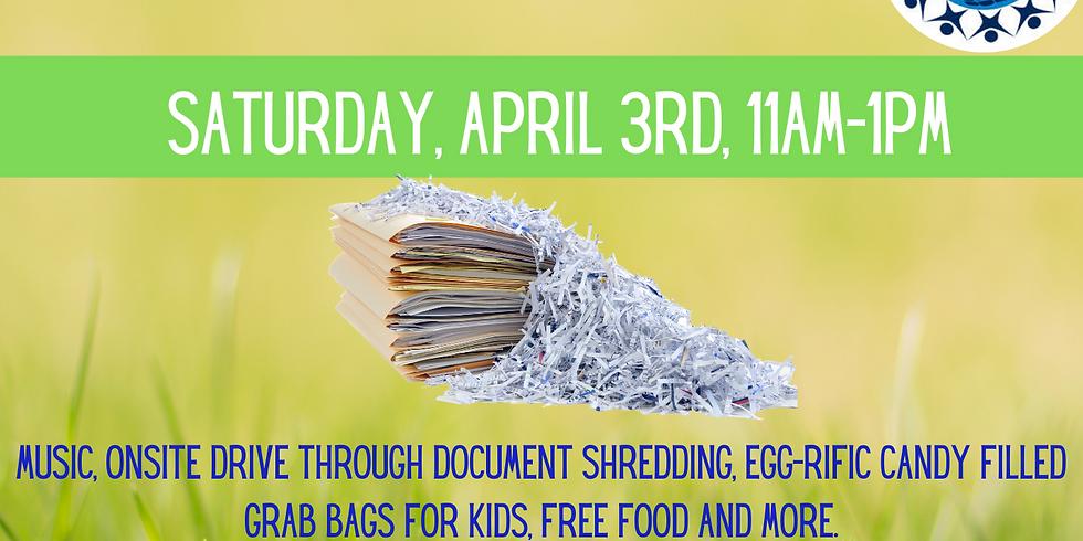 Easter-rific Community Shred Day