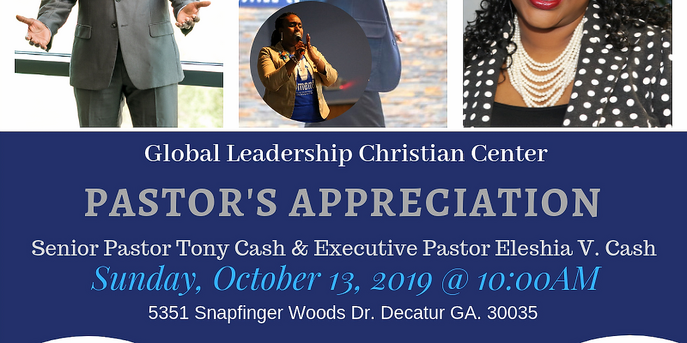 Pastor's Anniversary & Appreciation Day