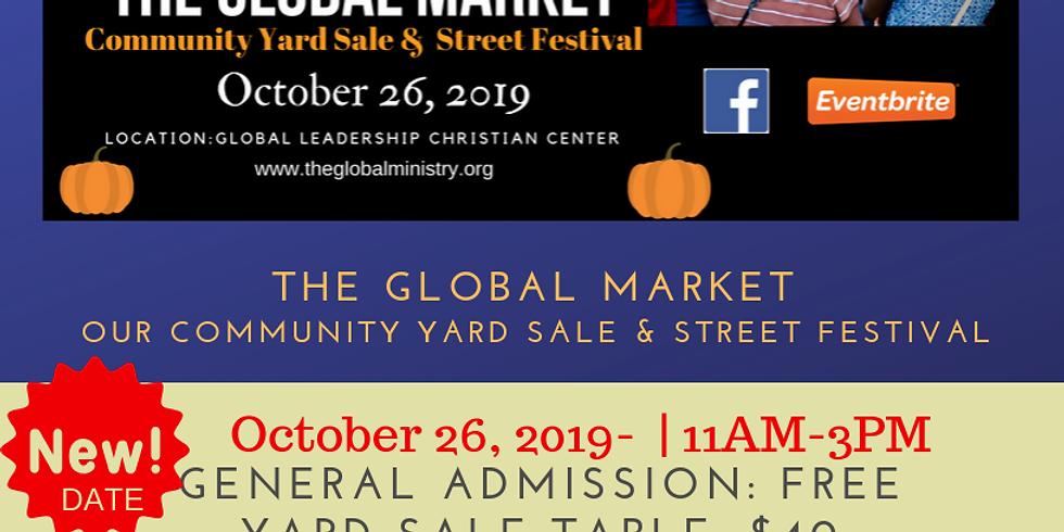 The Global Market Yard-sale & Street Festival