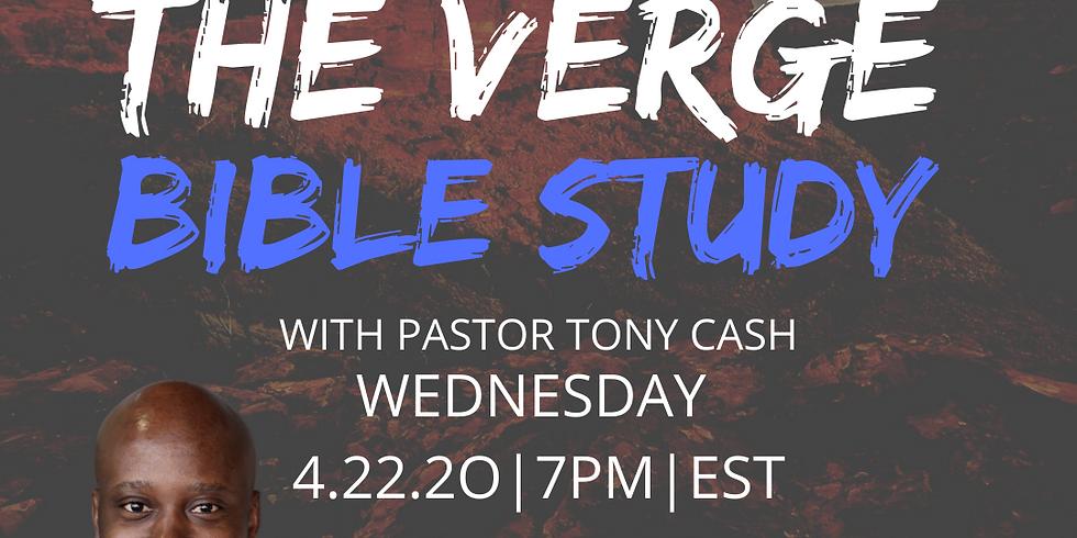 The VERGE- Wednesday Night Bible Study