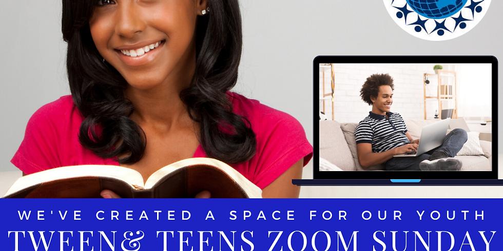 Tween& TEENS Zoom Meet Up