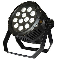 Black Outdoor LED Par RGBAW+UV