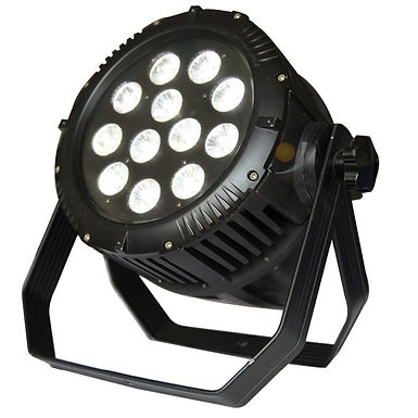 Black Outdoor LED Par RGB
