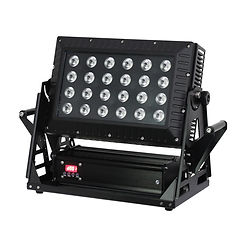 Exterior LED Flood 24 x 9W RGB
