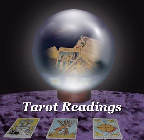 crystal ball and tarot cards.JPG