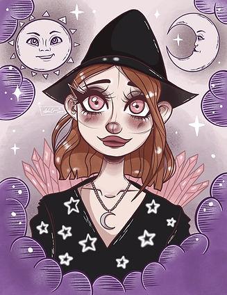 The Geordie Witch Instagram