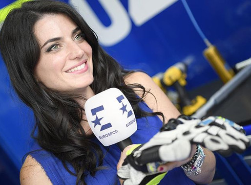 Becoming a Motorsports Reporter and TV Presenter!