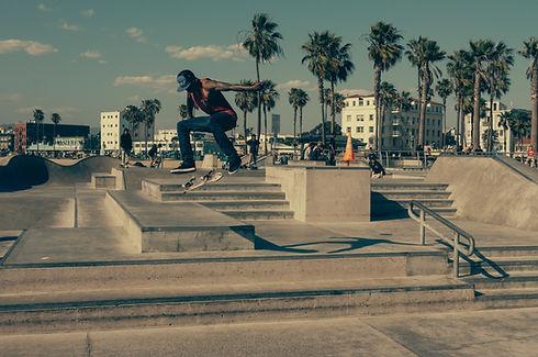 City skateboarder