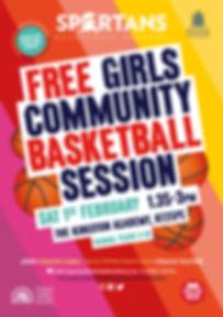 Spartans_Girls_Community_Session_1stFeb.