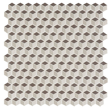 Mosaico 3D beige 30x30