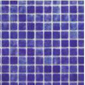Mosaico Piscina Crystal Azul Osc. Nacarado