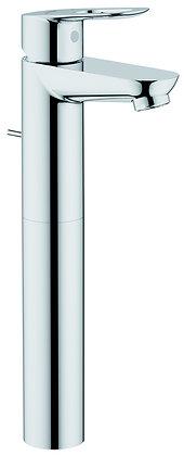 Grifería Bauloop lavamanos monocontrol alta cromo