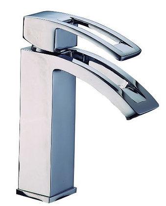 Grifería Siena lavamanos monocontrol baja cromo