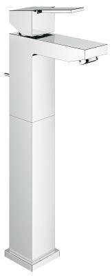 Grifería Baumetric lavamanos monocontrol alta cromo
