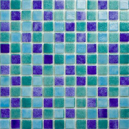 Mosaico Piscina Crystal Mix Nacarado