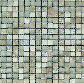 Mosaico Marmol Vidrio Romance Beige 30x30