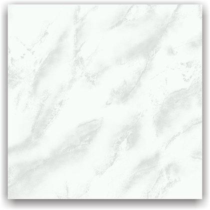 Cerámica Oro Blanco Brillante 56x56